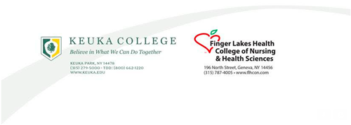 Keuka College and Finger Lakes Health College of Nursing and Health Sciences